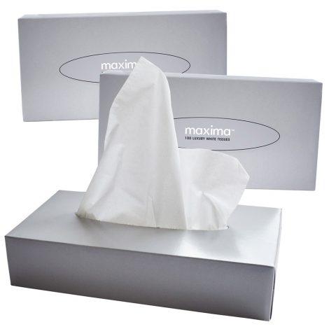MAX10011 Facial Tissues Box